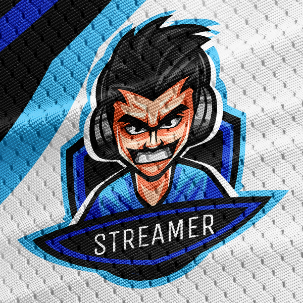 Gaming Logo Gamer Streamer Mascot