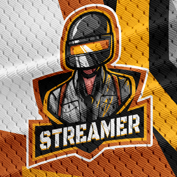 Gaming Logo PUBG Gamer Mascot